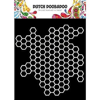 Dutch Doobadoo Dutch Mask Art 15x15cm Honeycomb 470.715.613