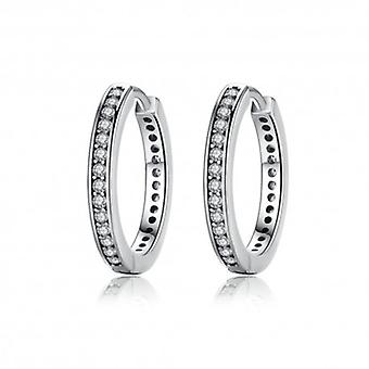 Silver Earrings Elegant - 6498