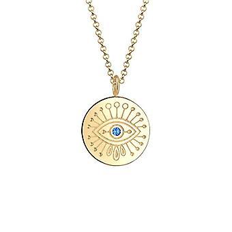 Elli Halskette mit Silber Frau Anhänger - 0105742918_60
