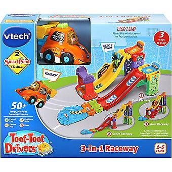 Vtech Toot-Toot drivers 3 az 1-ben versenypálya