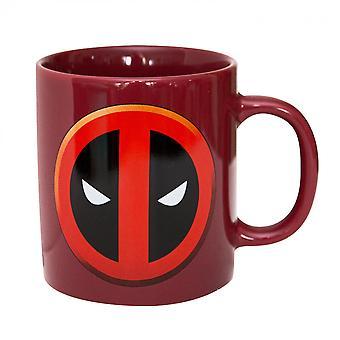 Deadpool Classic Logo Red Ceramic Mug