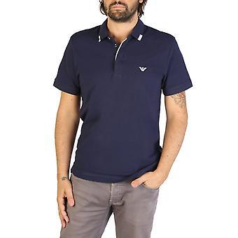 Emporio Armani Men Blue Polo -- 9P46735664