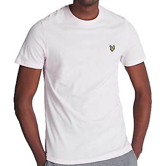 Lyle And Scott Crew Neck TShirt  Strawberry Cream TS400V