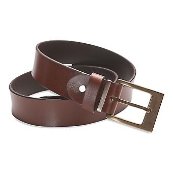 Hawkdale Mens Full Grain Leather Belt - 1.25 Inch Suit / Trouser # 8R-F12-400