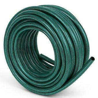Kingfisher 100m Reinforced Garden Hose Pipe / Hosepipe in Green