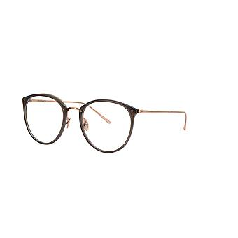 Linda Farrow Calthorpe LFL251 C6 Mocha Rose Gold Glasses