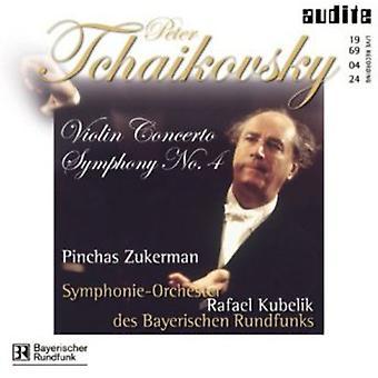 チャイコフ スキー-チャイコフ スキー: ヴァイオリン協奏曲交響曲第 4 番 [CD] 米国をインポートします。