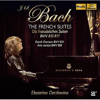 Bach, J.S. / Derzhavina - French Suites [CD] USA import
