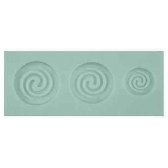 Moule de tourbillon flexible en silicone