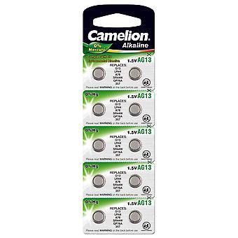 Camelion A76 LR44 AG13 Bateria 10-pak