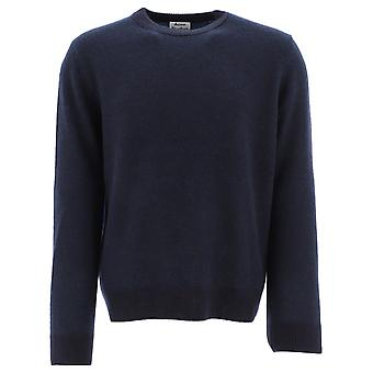 Acne Studios C60013navyblue Mænd's Blue Cashmere Sweater