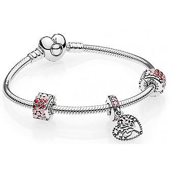 Pandora Tree of Hearts armbånd gave sett - B800770-19
