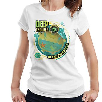 Angry Birds Deep Trouble Women's T-Shirt