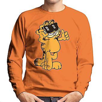 Garfield duimen en zonnebrillen tot mannen ' s Sweatshirt