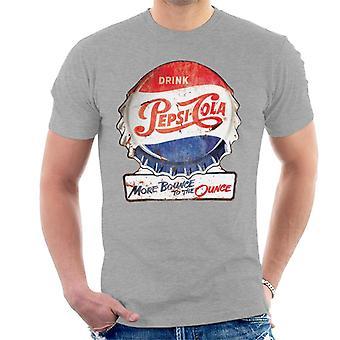 Pepsi Cola più rimbalzo per l'oncia uomo T-Shirt
