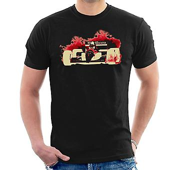 Motorsport bilder Ayrton Senna McLaren MP46 portugisiska GP negativa män ' s T-shirt