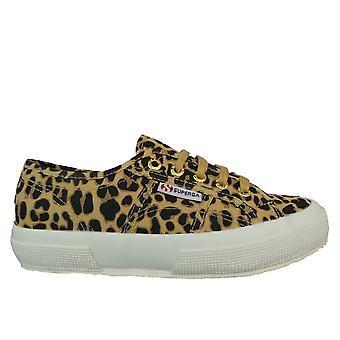Superga damer skor 2750 Fantasy cotu Leopard