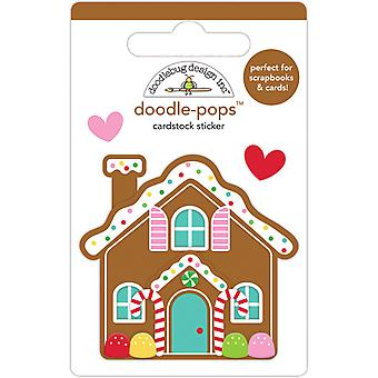 Doodlebug Design Cookie Cottage Doodle-Pops (3pcs) (6458)