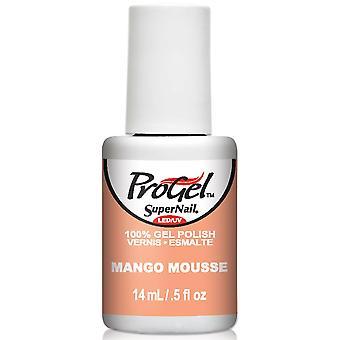 SuperNail ProGel Gel Nail Polish - Mango Mousse 14ml