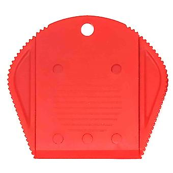 Plastic Safety Handle for Dorco Blades - Red