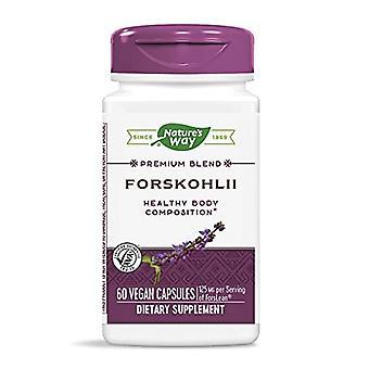 Capsules végétaliennes De la nature et de la voie Forskohlii