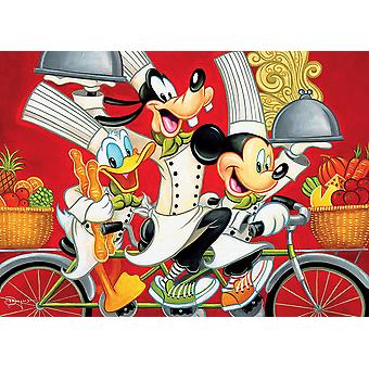 Puzzle - Ceaco - Disney Wheeling in Flavor 1000pcs New 3377-11