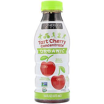 Stoneridge Orchards, Organic, Tart Cherry Concentrate, 16 fl oz (473 ml)