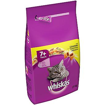 Whiskas 7+ Adulte Cat (Senior) Complet - 1.9kg