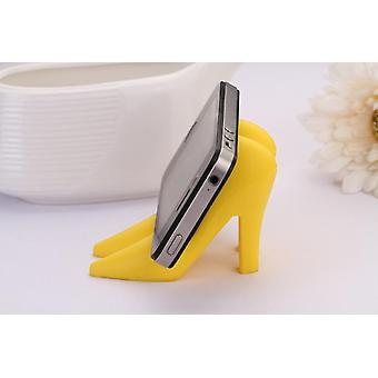 Multipurpose Women High Heel Sandal Shaped Silicone Universal Mobile Phone