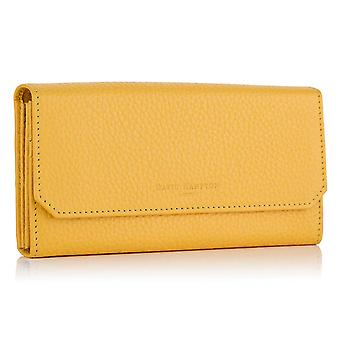 Aztec Yellow Richmond Leather Continental Wallet