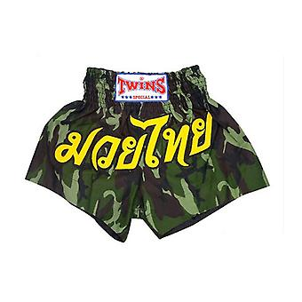 Twins Boxing Shorts Army Green