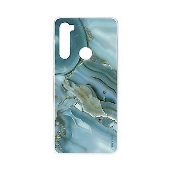 Schale für Xiaomi Redmi Note 8 Weiche Marmor-Effekt Design