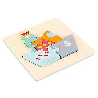 High-quality  3d Wooden Puzzle Educational