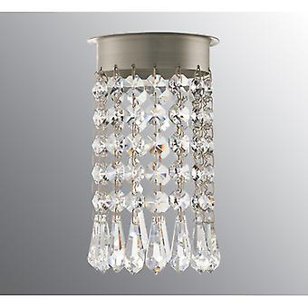 Ifo Electric Crystal Chandelier For Opus 120 Beads + Drop Brilliant Cut