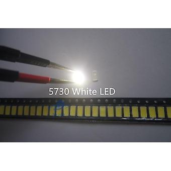 200 Pcs Smd 5730 Diodo Branco Smd 5730 0.5w Led 5630 6000k/6500k Super Bright