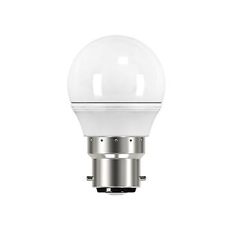 Energizer® LED BC (B22) Opal Golf Non-Dimmable Bulb, Warm White 470 lm 5.9W