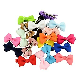 Baby Girls Bow Flower, Small Barrettes, Cute Hairpins