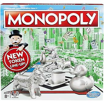 Hasbro gaming monopoly classic game for children aged 8 years and up-multicolor