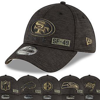 New Era 39Thirty Cap - فرق NFL تحيي خدمة 2020