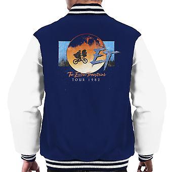 E.T. The Extra Terrestrial Tour 1982 Classic Shot Men's Varsity Jacket