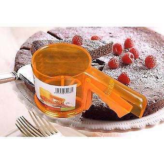 Tvar šálky múky sitko sieťoviny múky sitko mechanické pečenie poleva cukor trepačka