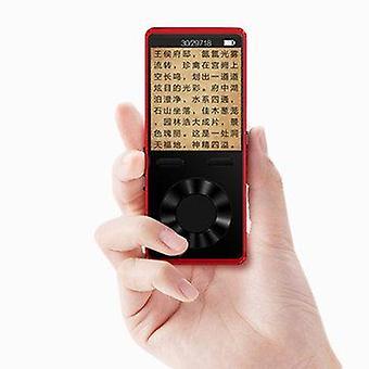 MECHEN X1 1,8 palcový digitálny Bluetooth MP3 prehrávač FARBA: ČERVENÁ | PAMÄŤ: 8 GB