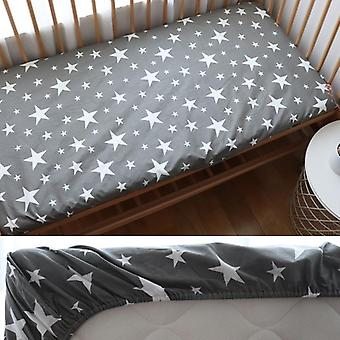 Baby Fitted Sheet For Newborns Cotton Soft Crib Bed Sheet