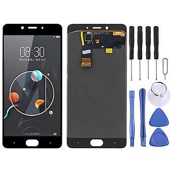 LCD Screen and Digitizer Full Assembly for ZTE Nubia N2 nx575j (Black)