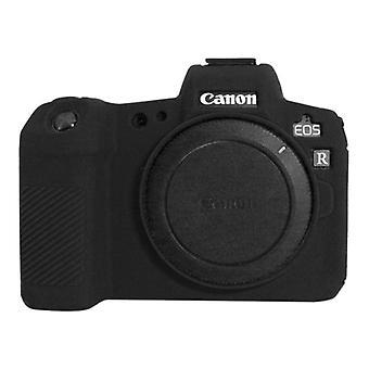 Puluz Miękki silikonowy futerał ochronny do Canon EOS R (czarny)
