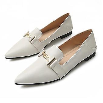 Sweet Flats Shallow Women Boot / schoenen Slip On Ladies Pointed Toe Loafers Lente,