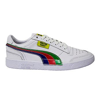 Puma x Ralph Sampson Lo Chinatown Market Leather Lace Up Mens Trainers 371394 01