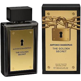 Antonio Banderas The Golden Secret Eau de Toilette Spray for Men 100 ml