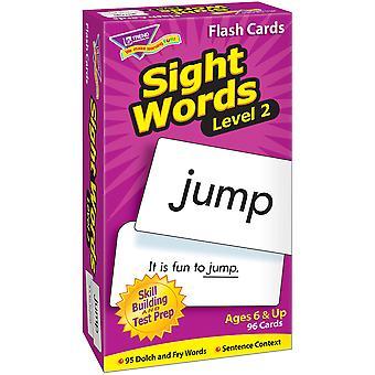 Mots de vue Niveau 2 Skill Drill Flash Cards