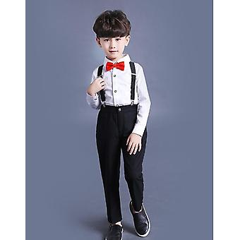 Classic Brace Pant, Suit, Cotton's Wedding Party Dress